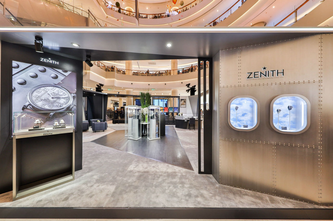 Zenith abre nueva boutique