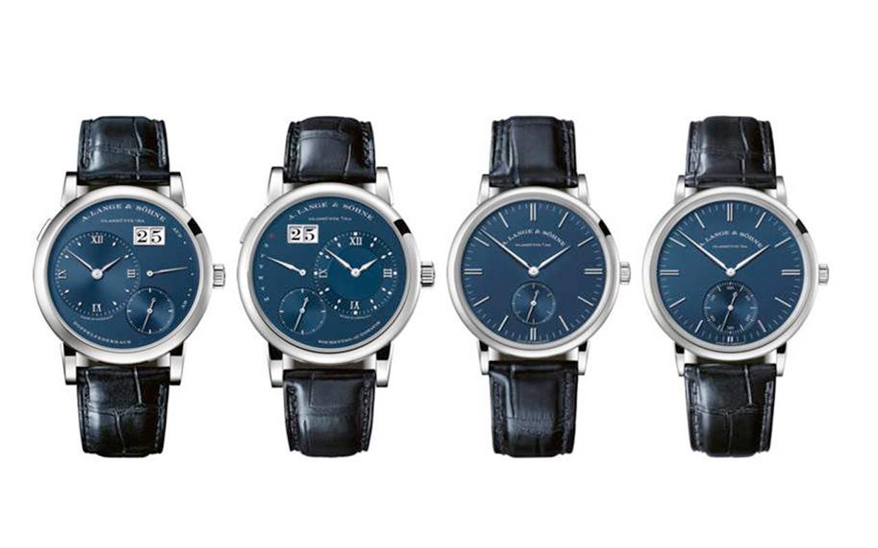 A. Lange & Söhne Blue Series, cuatro nuevos relojes