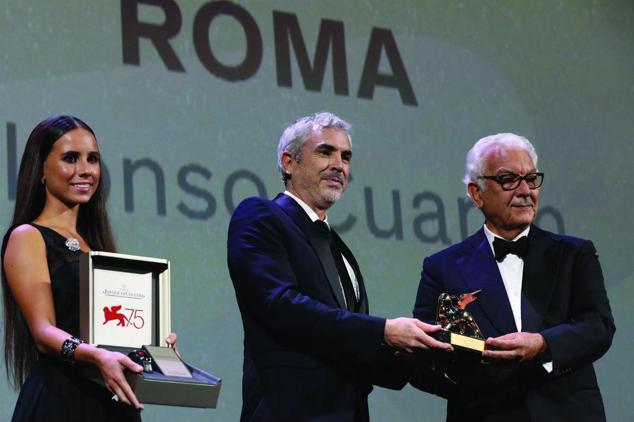 Alfonso Cuarón recibió un Jaeger-LeCoultre Reverso