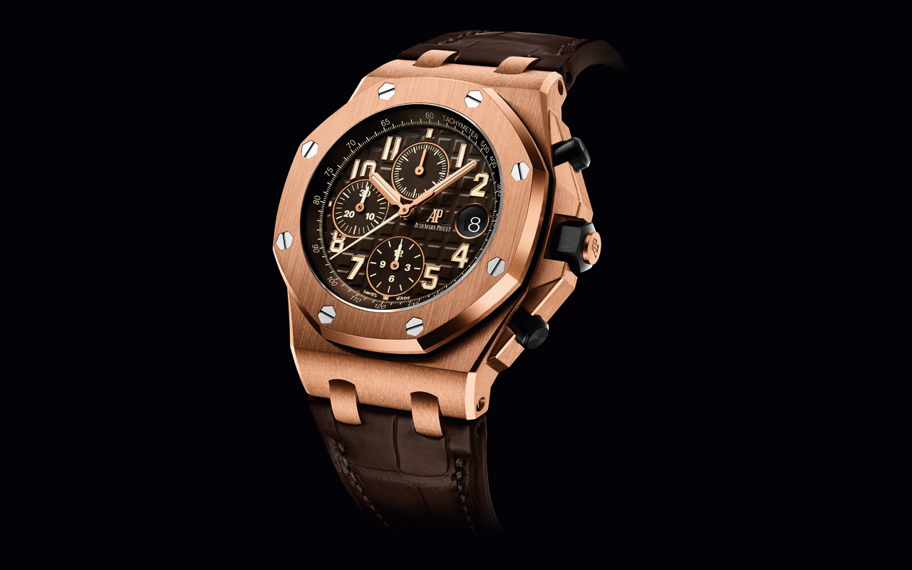 AP Royal Oak Offshore Selfwinding Chronograph, alta precisión