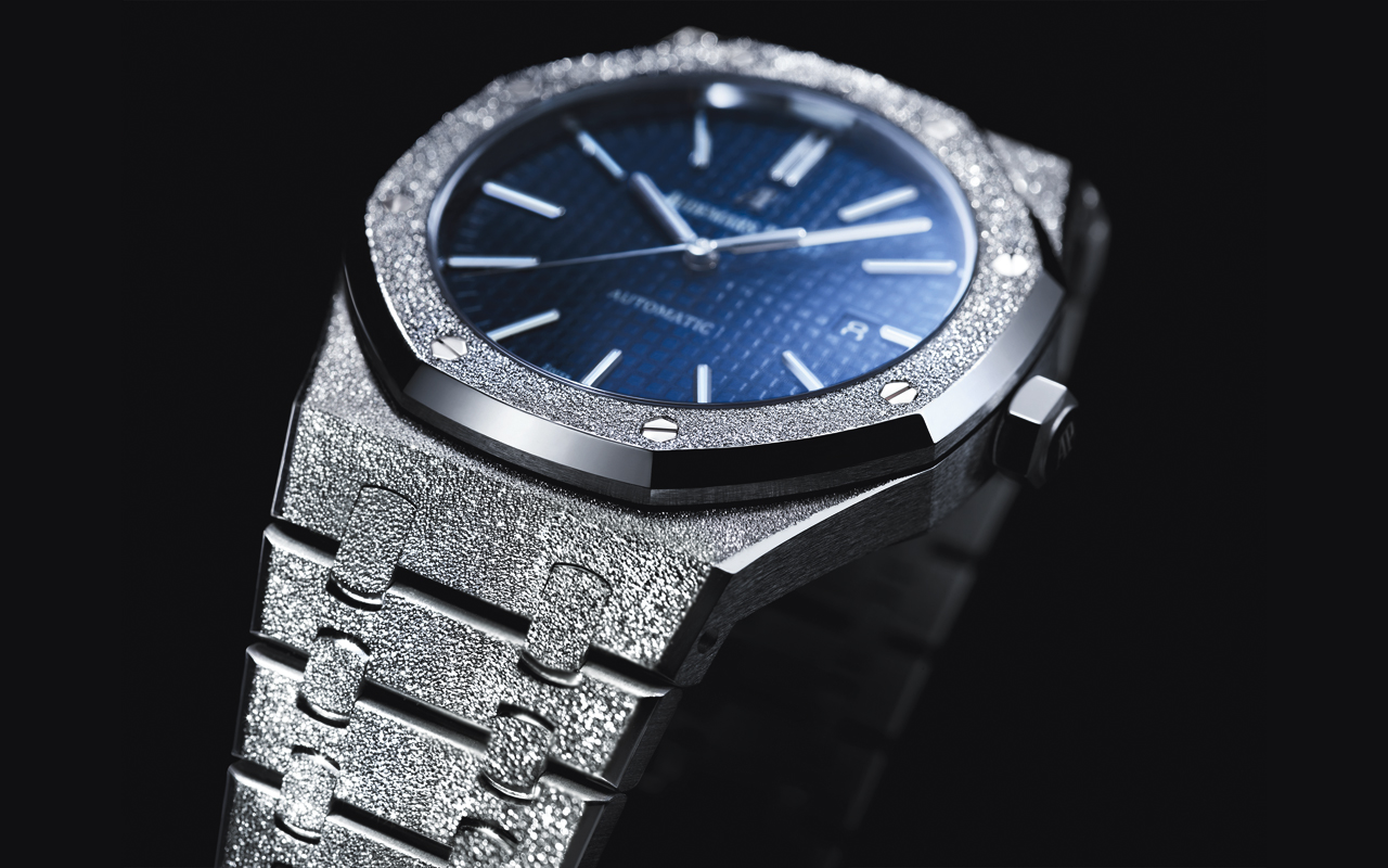 Audemars Piguet Royal Oak Frosted Gold Limited Edition 41 mm, alquimia atemporal