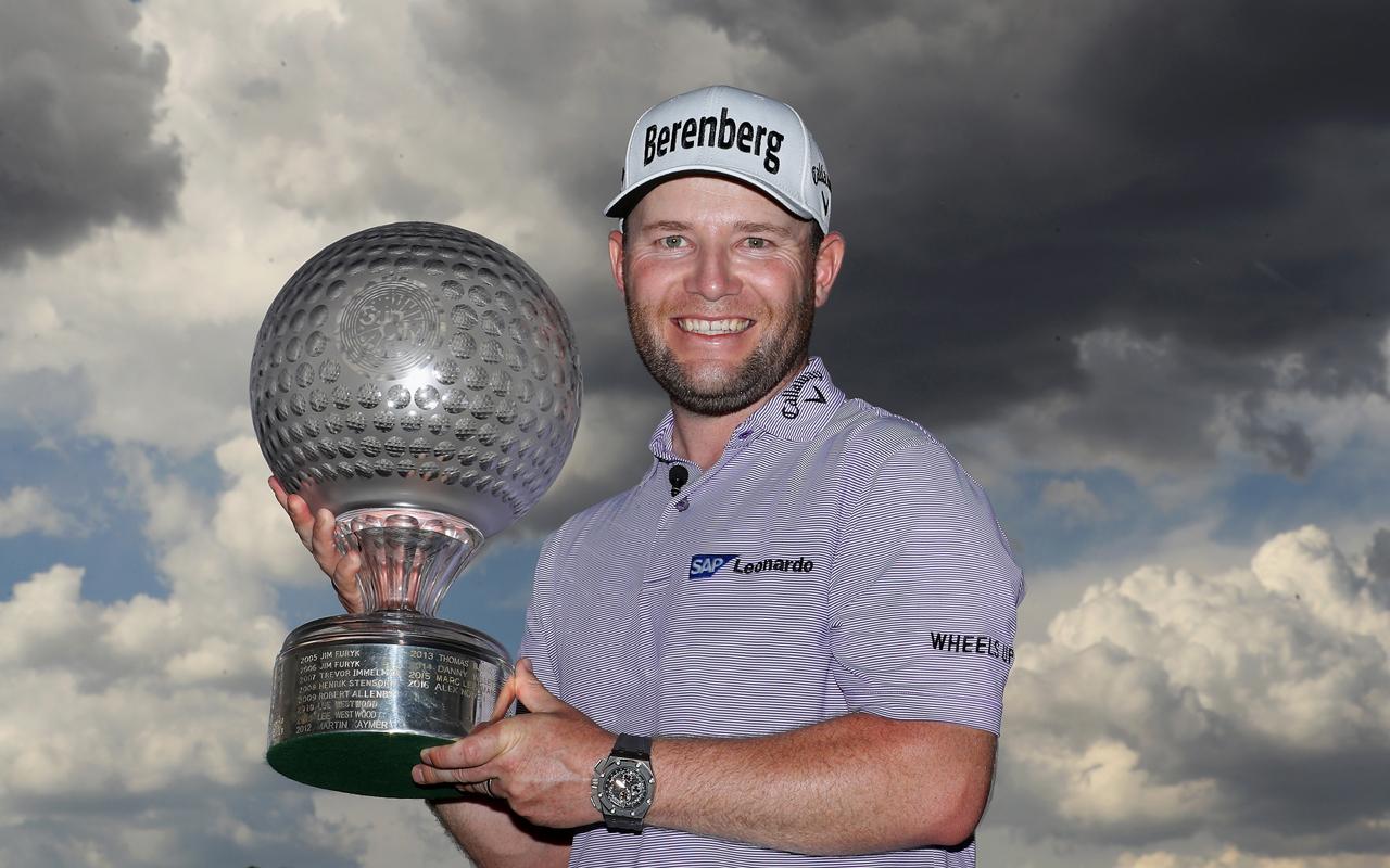 Audemars Piguet y Branden Grace festejan victoria en el Nedbank Golf Challenge