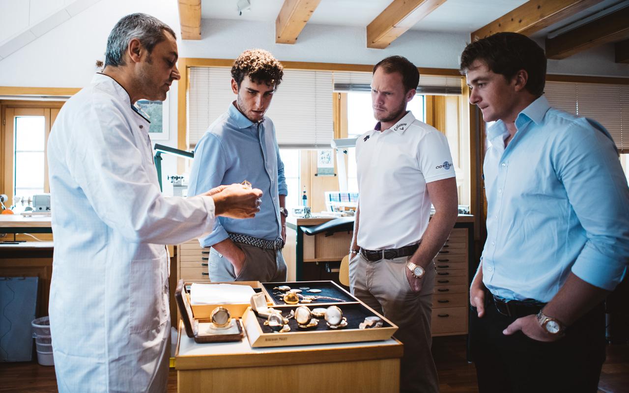 Audemars Piguet reunió a sus embajadores de golf en Le Brassus