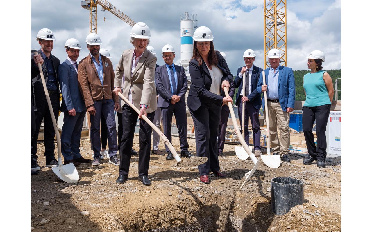 Audemars Piguet inicia la construcción del Hôtel des Horlogers