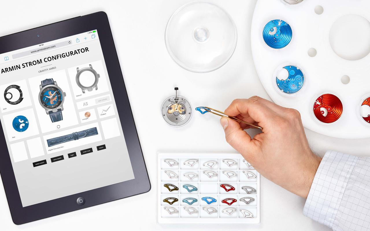 Armin Strom Watch Configurator, lujo personalizado