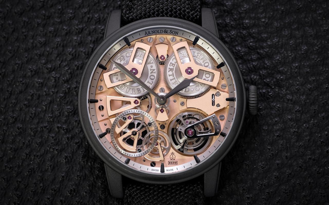 Arnold & Son Tourbillon Chronometer No.36 Gunmetal, alto virtuosismo