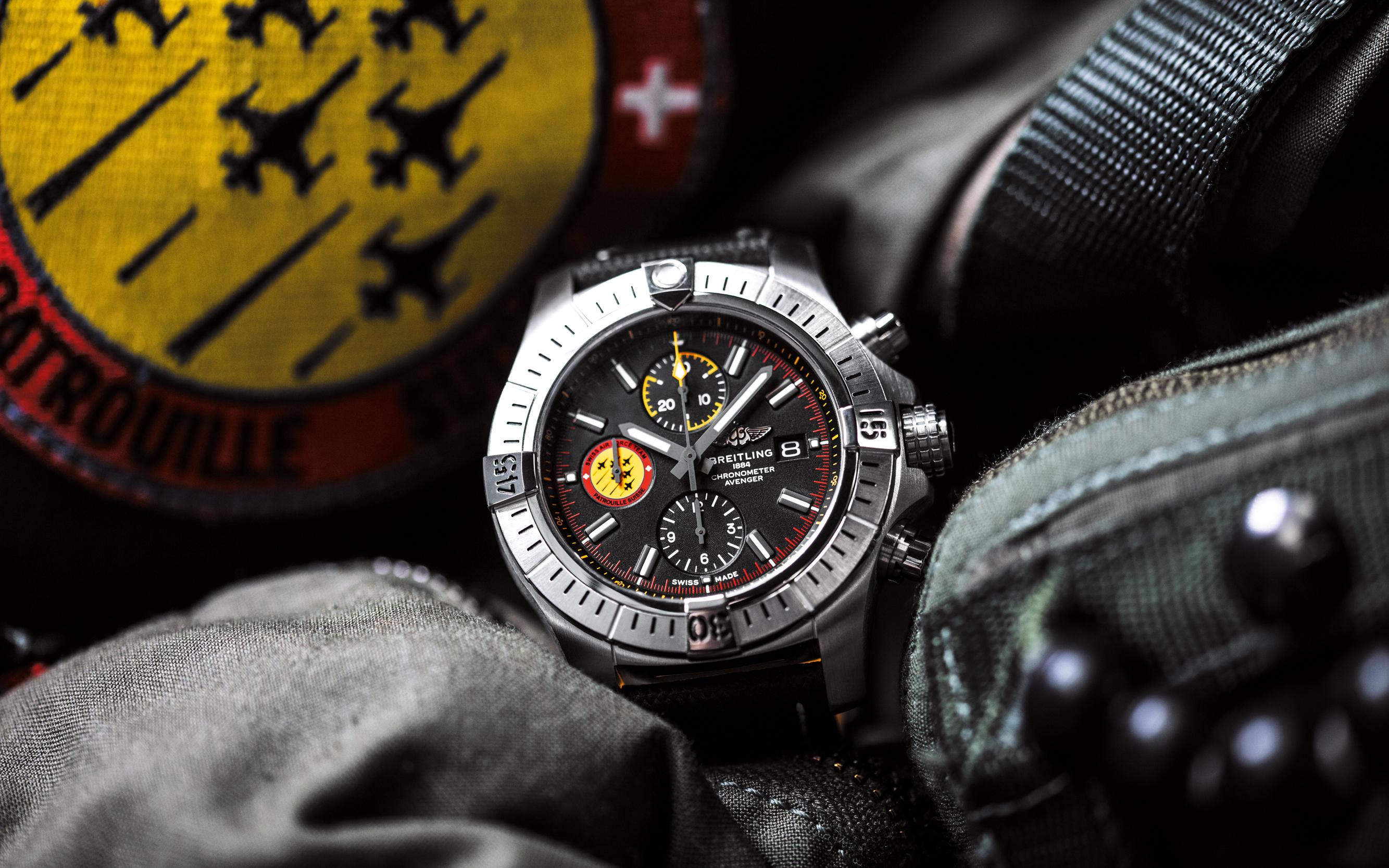Breitling, precisión de altos vuelos
