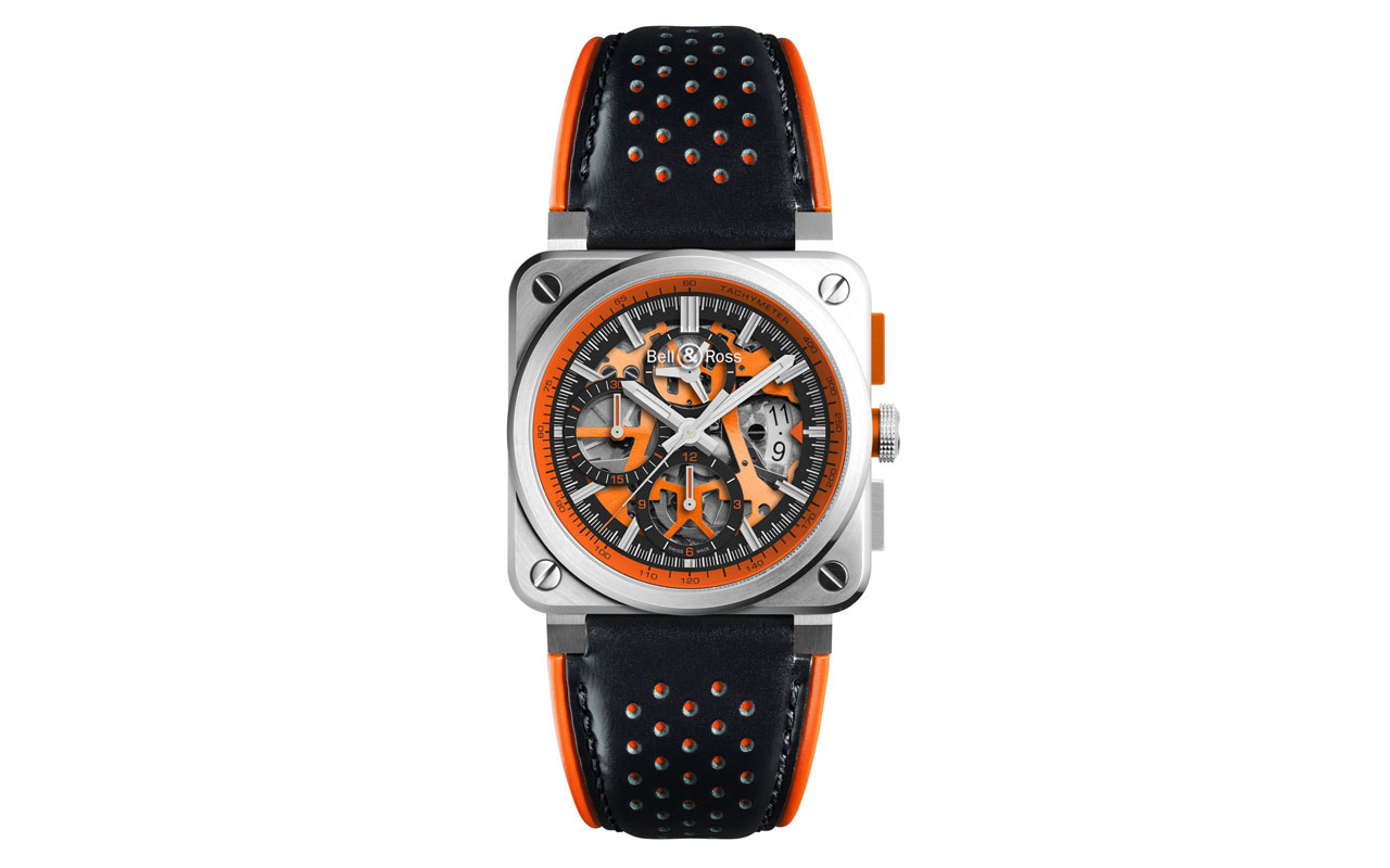 BR 03-94 AeroGT Orange, Bell & Ross más conceptual