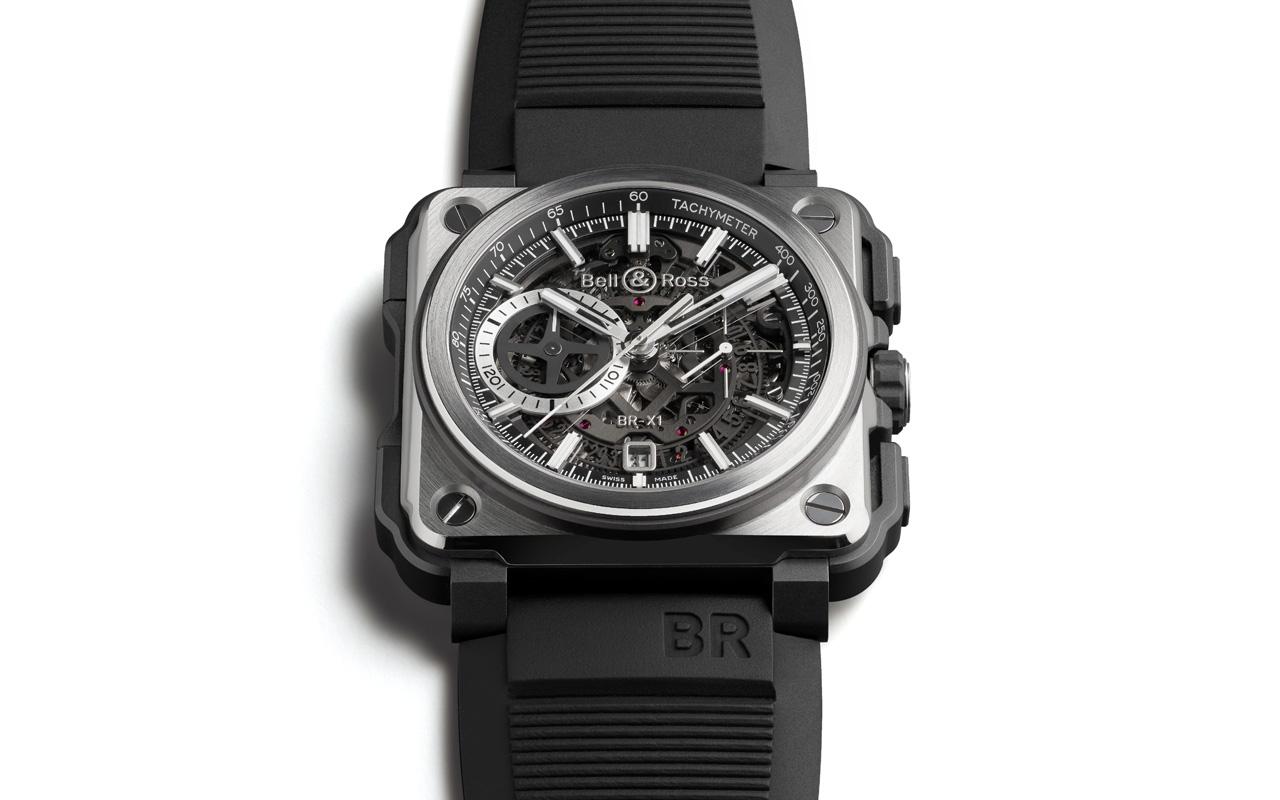 Bell & Ross BR-X1 Black Titanium Chronograph, ligereza de alta gama