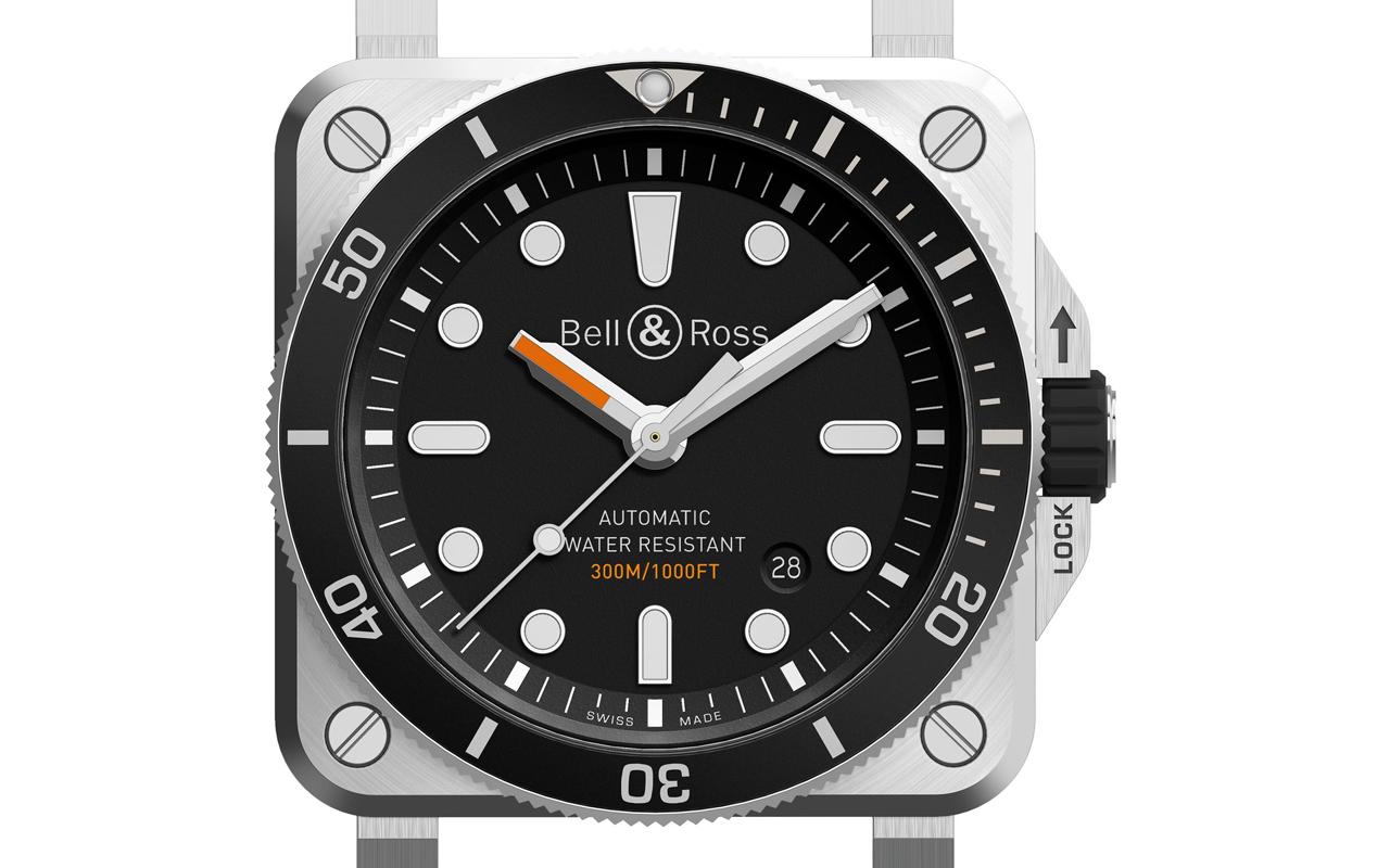 Bell & Ross BR 03-92 Diver, nuevo scuba de caja cuadrada