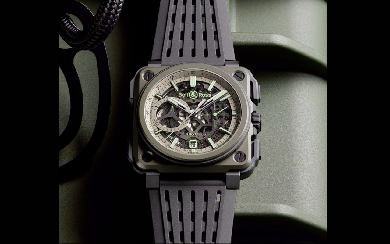Bell & Ross BR-X1 Military, alta resistencia