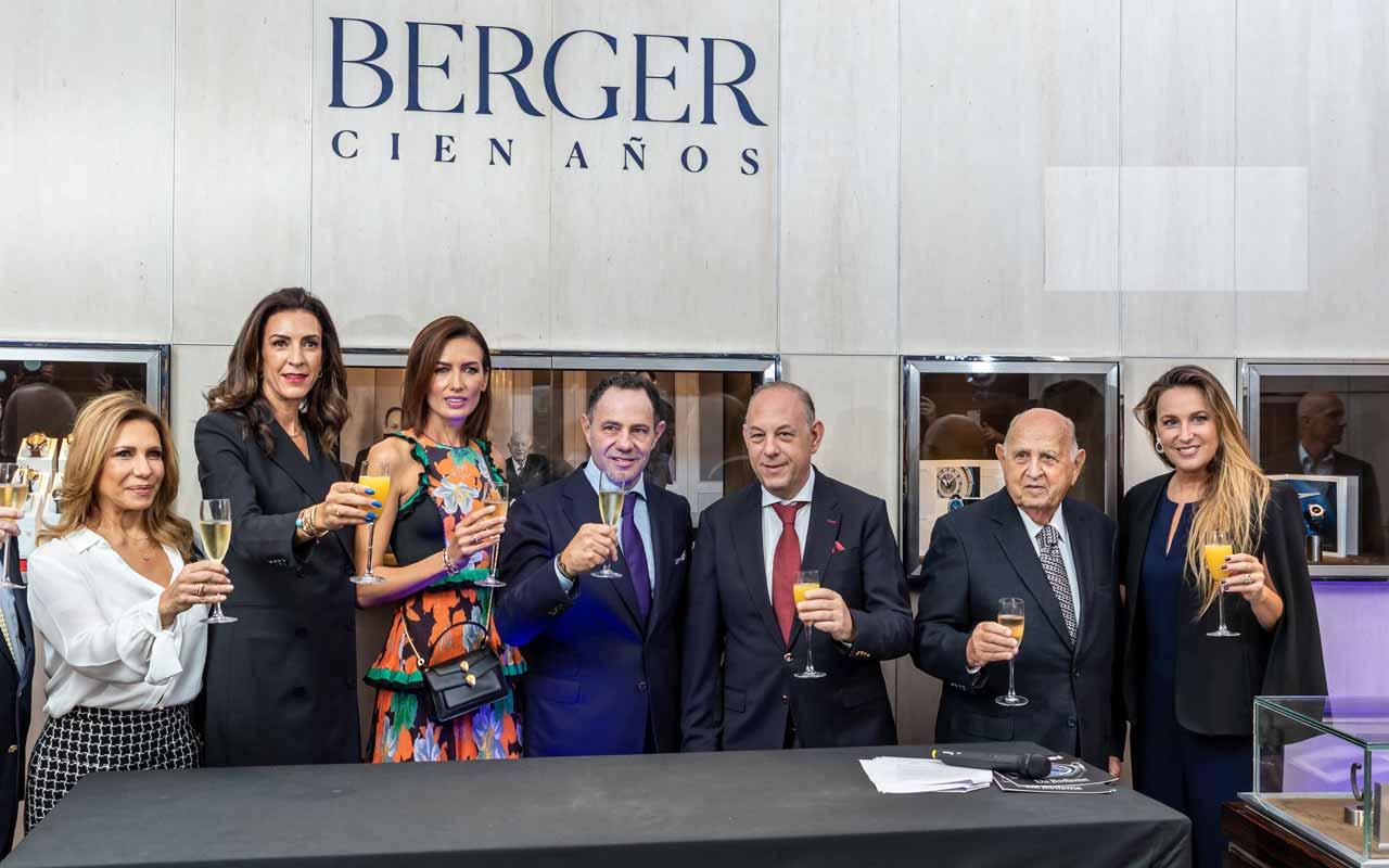 Berger festeja 100 años