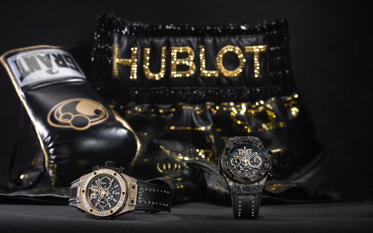Hublot Big Bang Unico TMT, tributo a Floyd Mayweather
