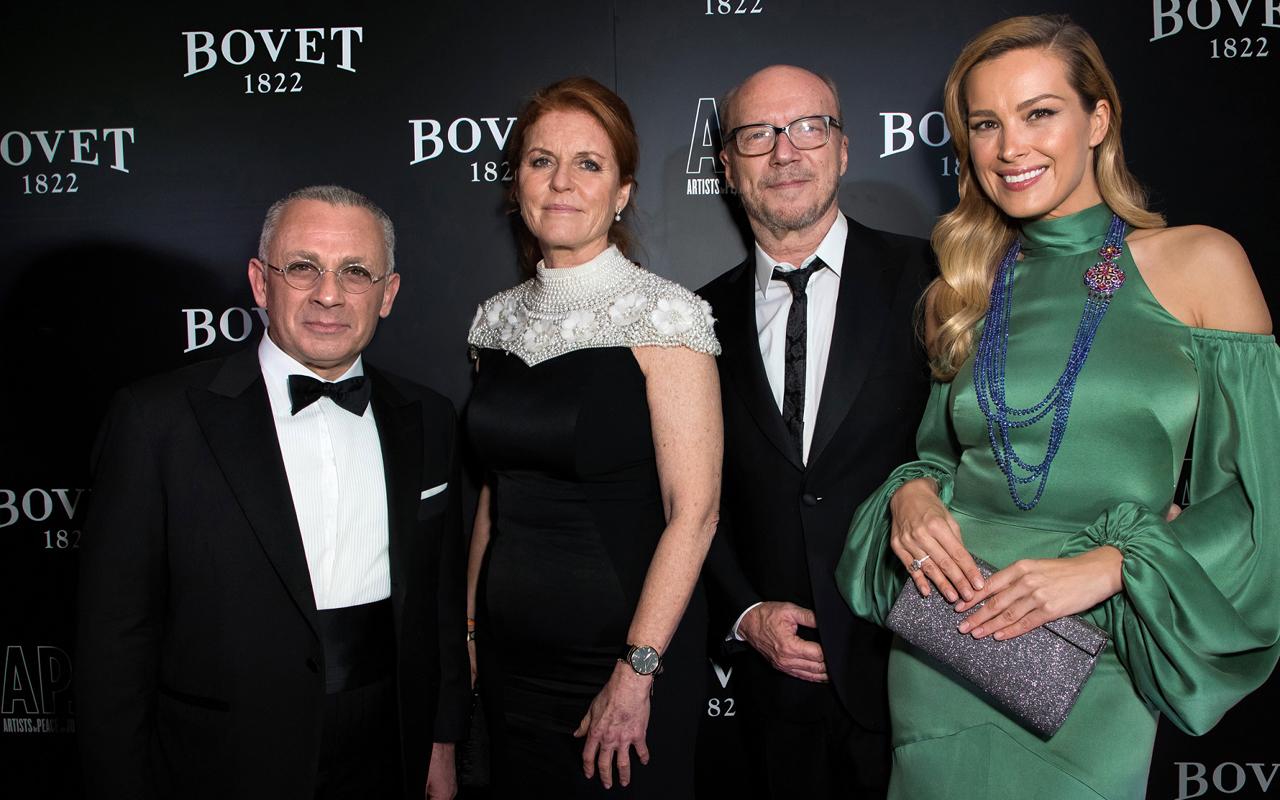 Bovet organiza gala benéfica en Londres