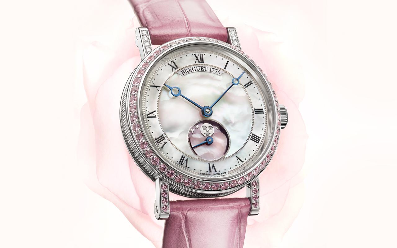 Breguet Classique Phase de Lune Dame 9085, Edición Limitada para San Valentín