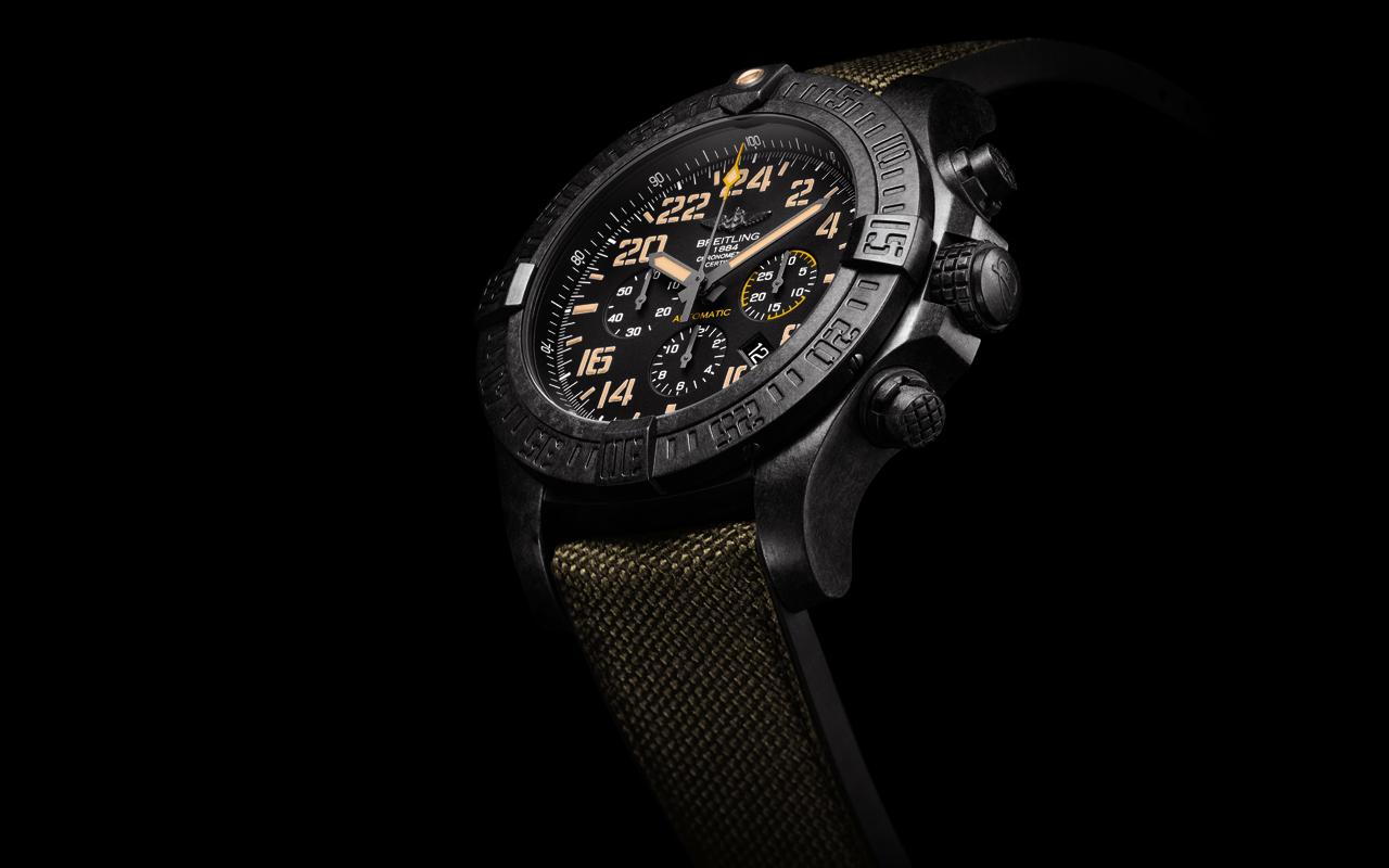 Breitling Avenger Hurricane Military, criatura poderosa 'high-tech'