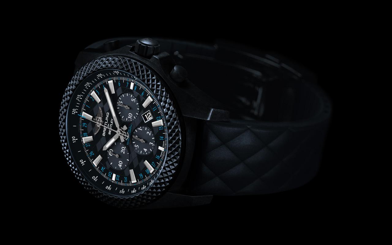 Breitling Bentley GT Dark Sapphire Edition, robusto y ultraligero