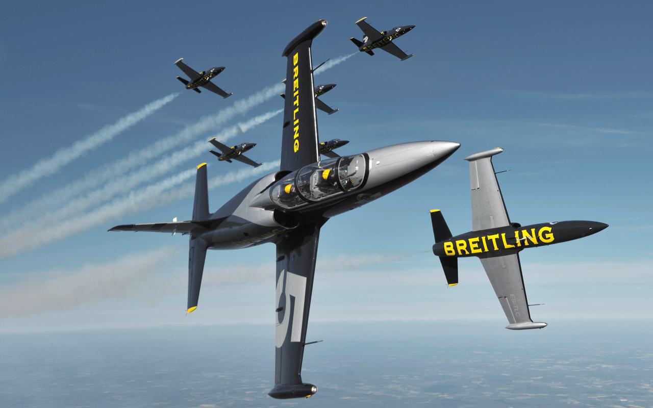 Breitling Jet Team, hazañas de altos vuelos