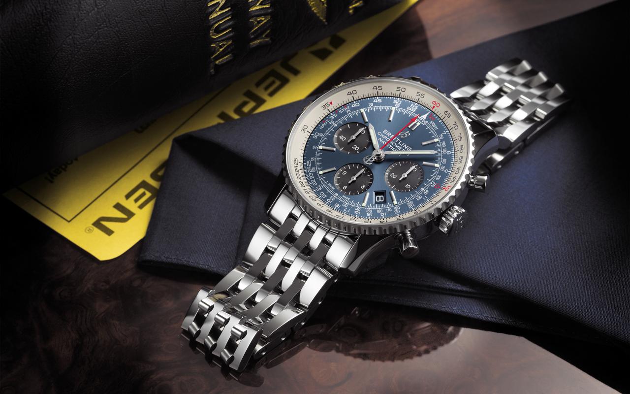 Breitling Navitimer 1 B01 Chronograph 43, ícono pilot