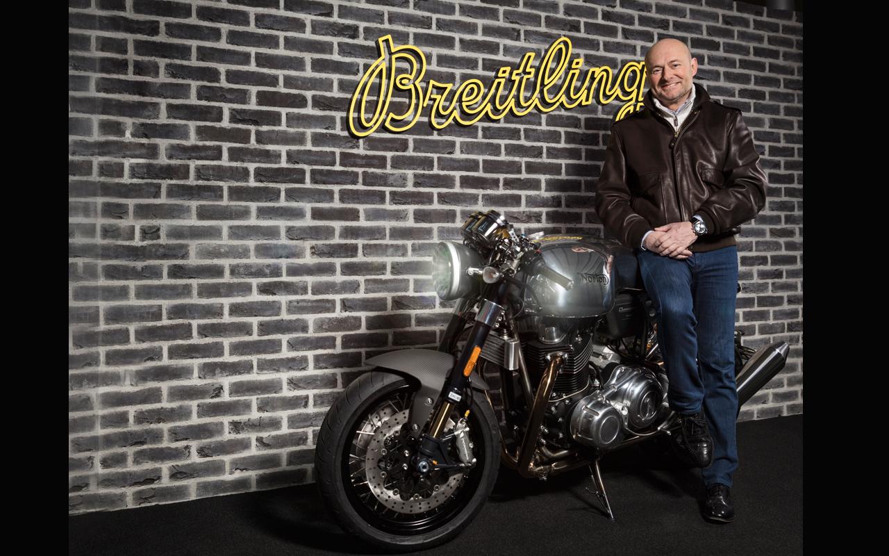 Breitling y Norton Motorcycles, alianza de máxima adrenalina