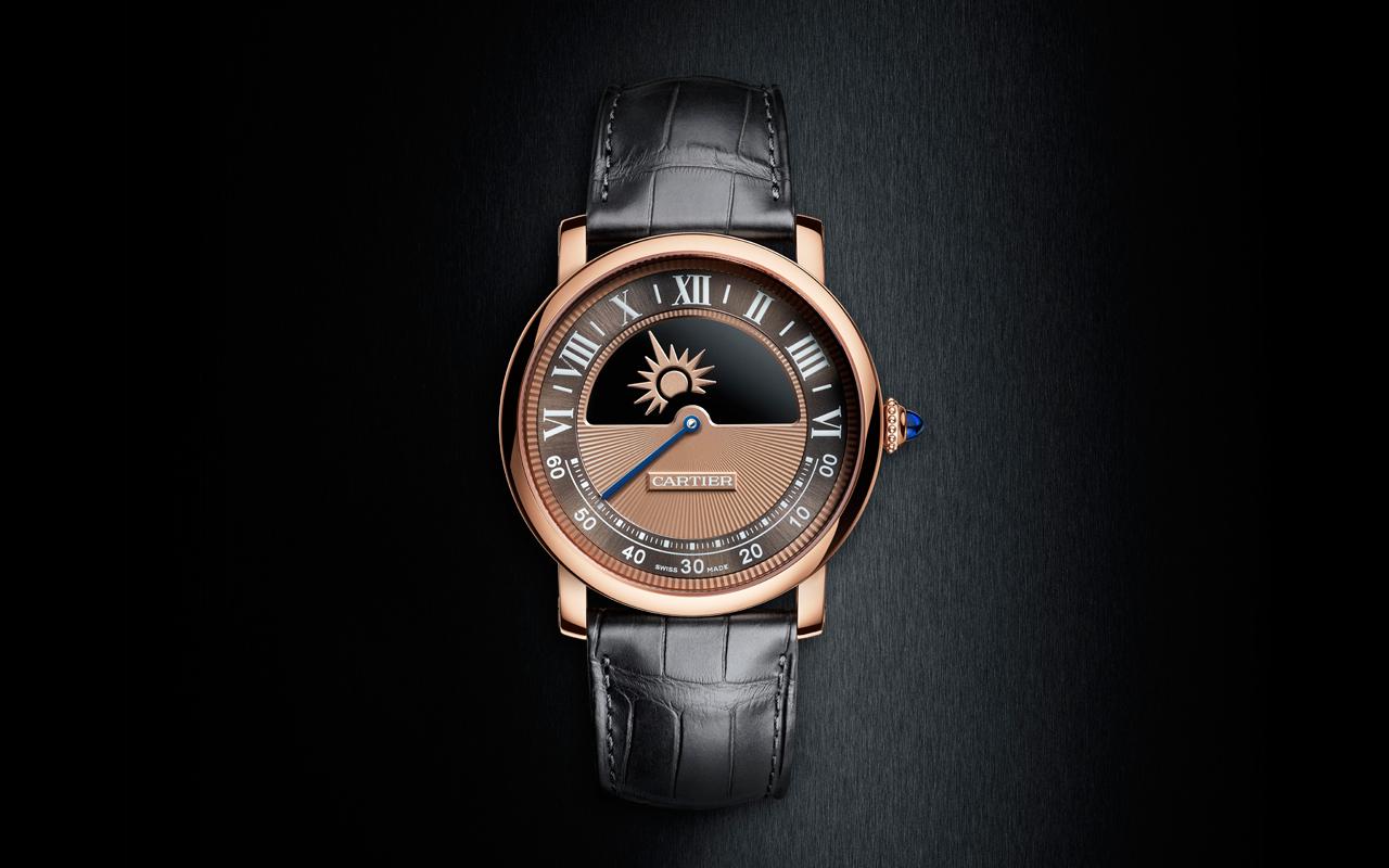 Rotonde de Cartier Mysterious Day & Night Watch, magia celeste