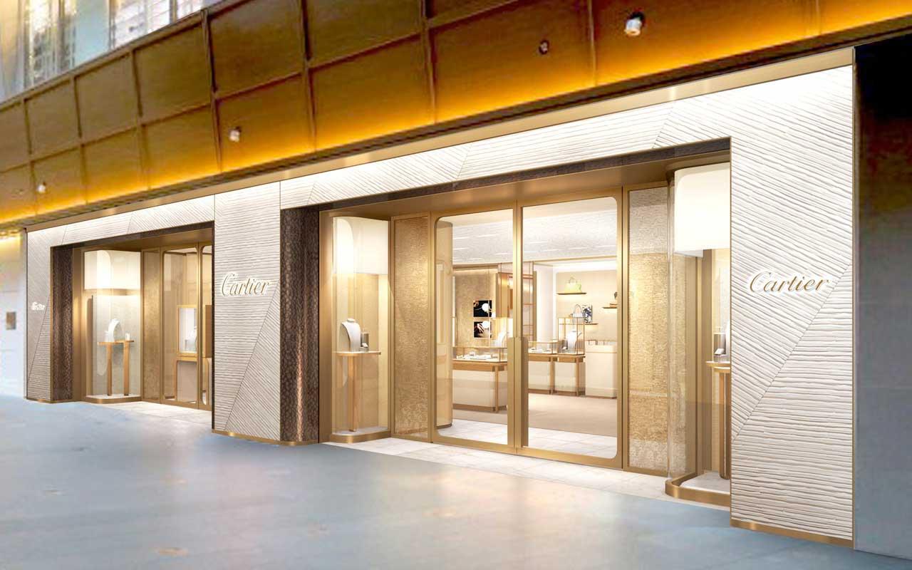 Cartier inaugura su nueva boutique en Roppongi Hills