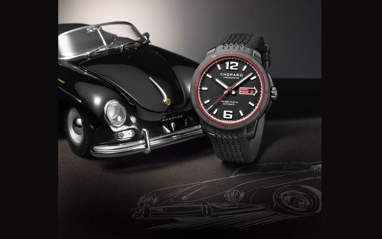 Mille Miglia GTS Automatic Speed black, hazaña del classic Racing