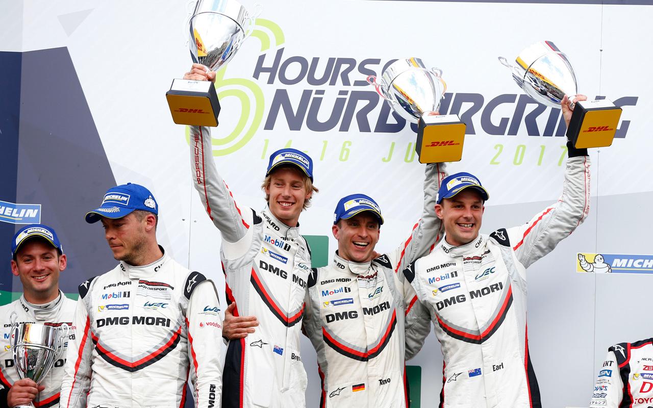 Chopard y Porsche suben al podio en las 6 Hours of Nürburgring 2017