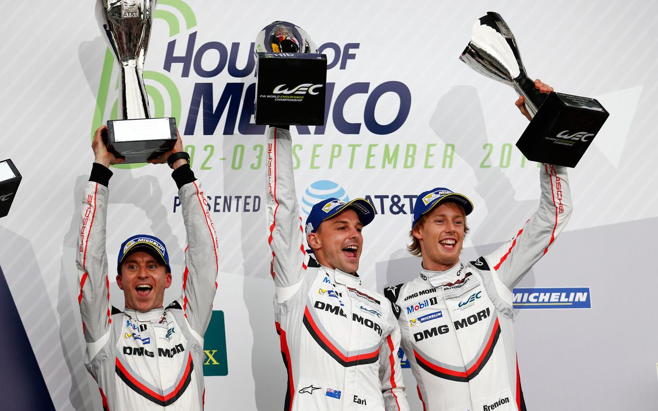 Porsche y Chopard arrasan en las Six Hours of Mexico 2017