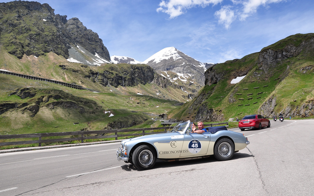 Chronoswiss Kitzbühel Alpenrallye, clásicos en las montañas