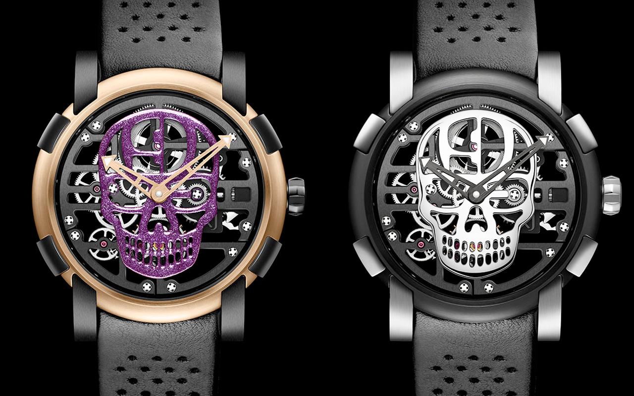 Relojes para el Día de Muertos
