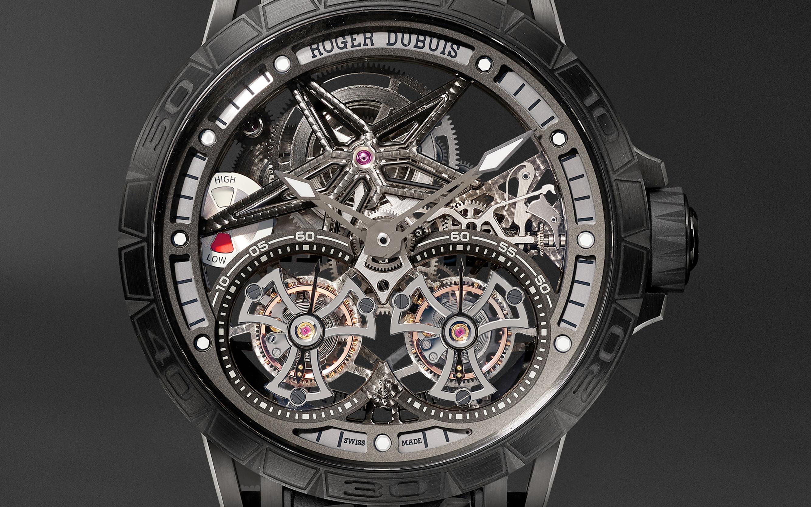 Roger Dubuis, vanguardia relojera