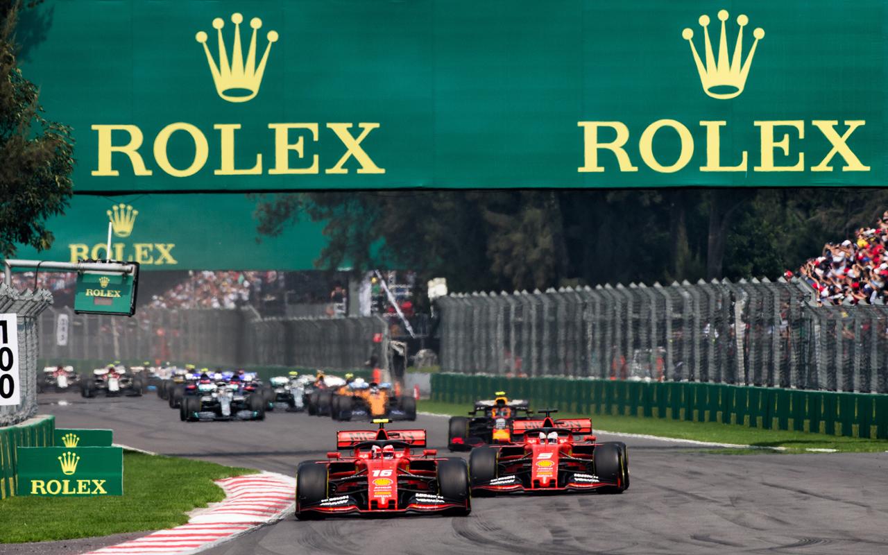 Rolex protagonizó el Gran Premio de México
