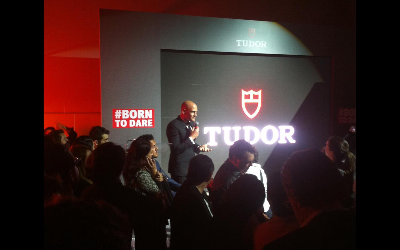 Tudor presenta su nueva campaña en México