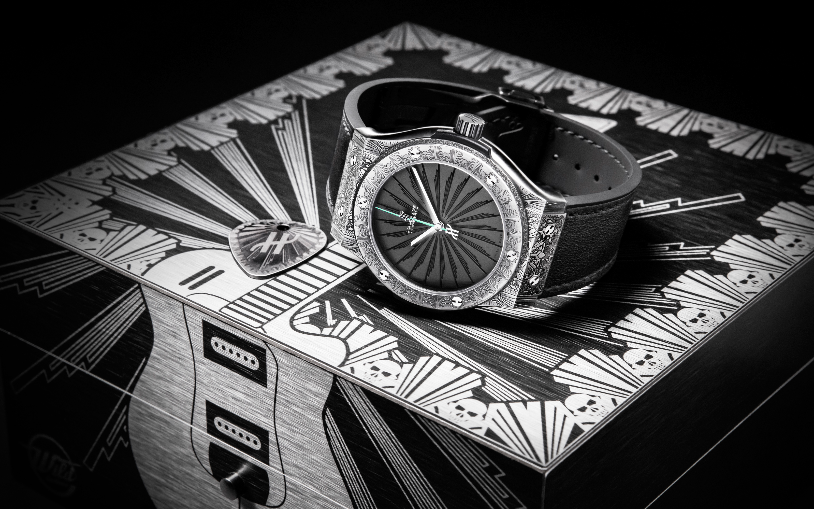Hublot, a ritmo de rock and roll