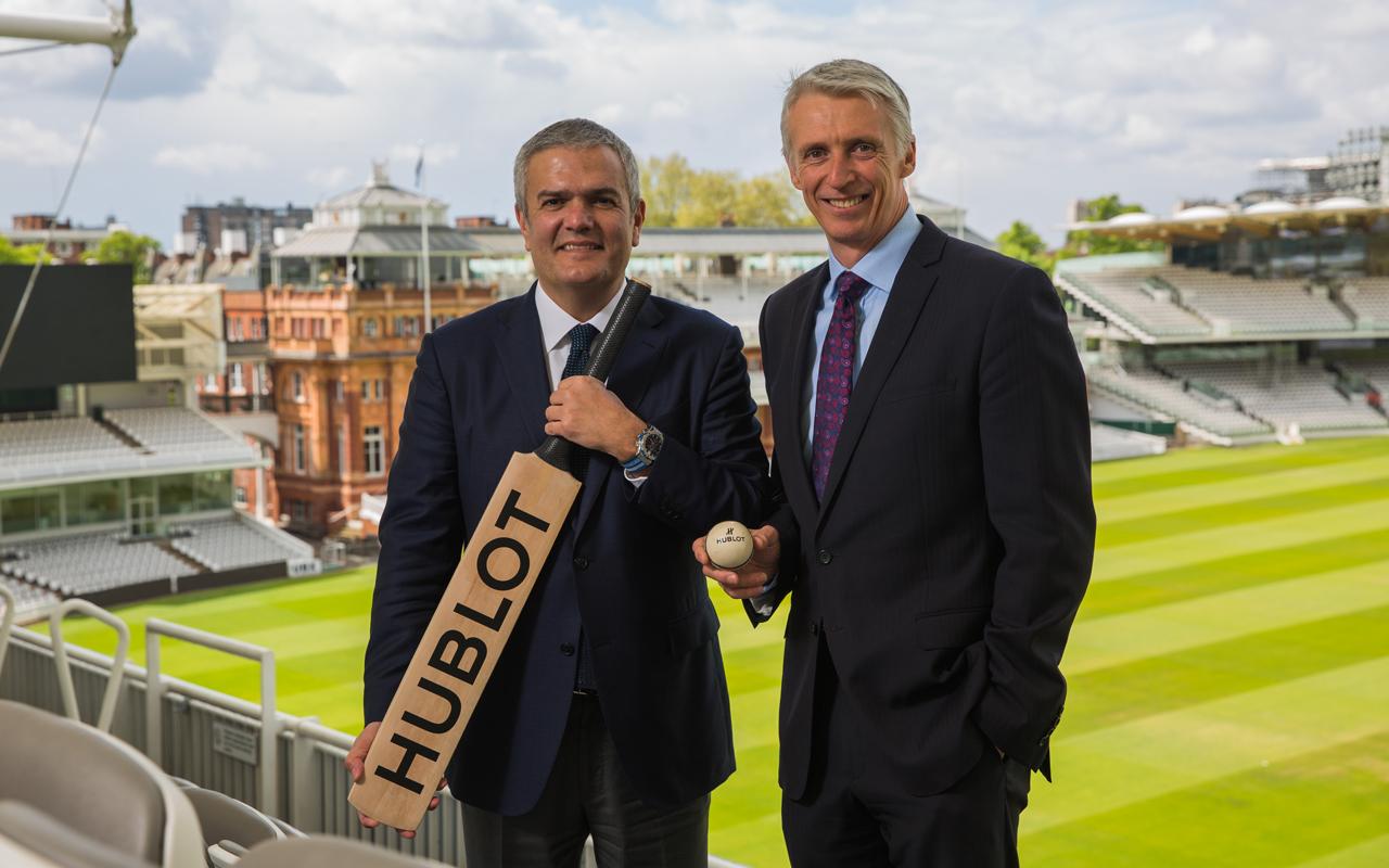 Hublot crece en el mundo del cricket