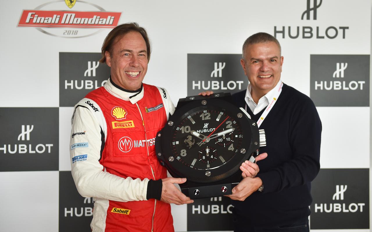 Hublot vive la emoción del Ferrari Challenge