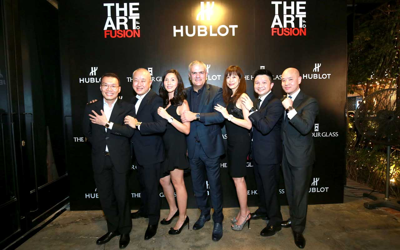 "Hublot lleva a Kuala Lumpur ""The Art of Fusion"""