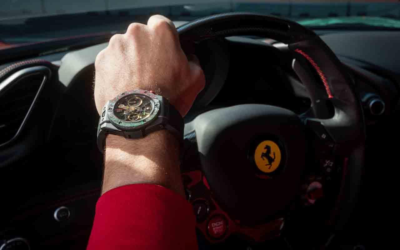 Hublot y Ferrari lanzan edición especial