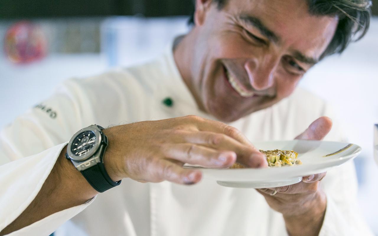 Hublot y el chef Yannick Alléno, 'haute cuisine' de precisión relojera