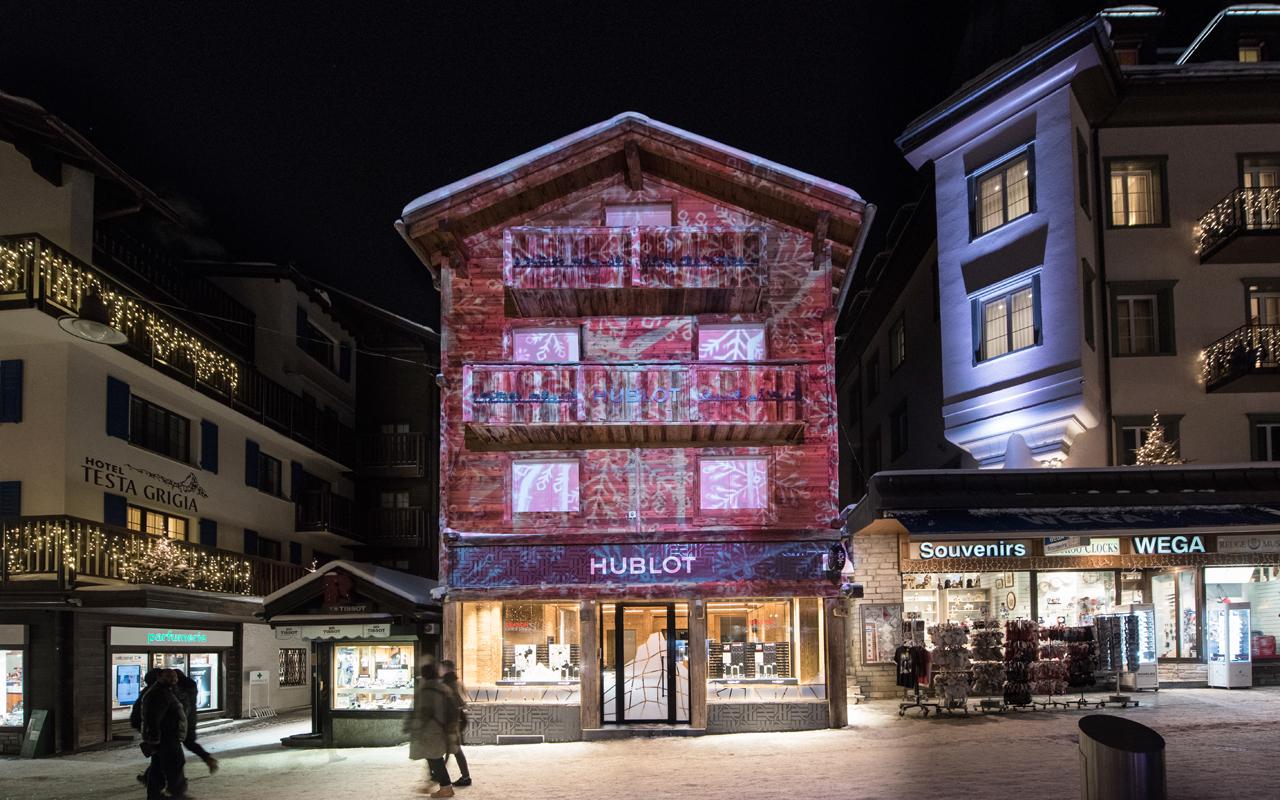 Hublot celebra el invierno en Zermatt
