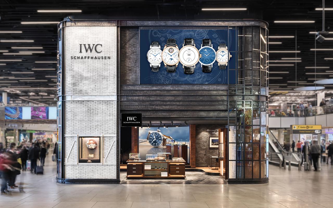 IWC abre pop-up store en el Aeropuerto de Ámsterdam-Schiphol