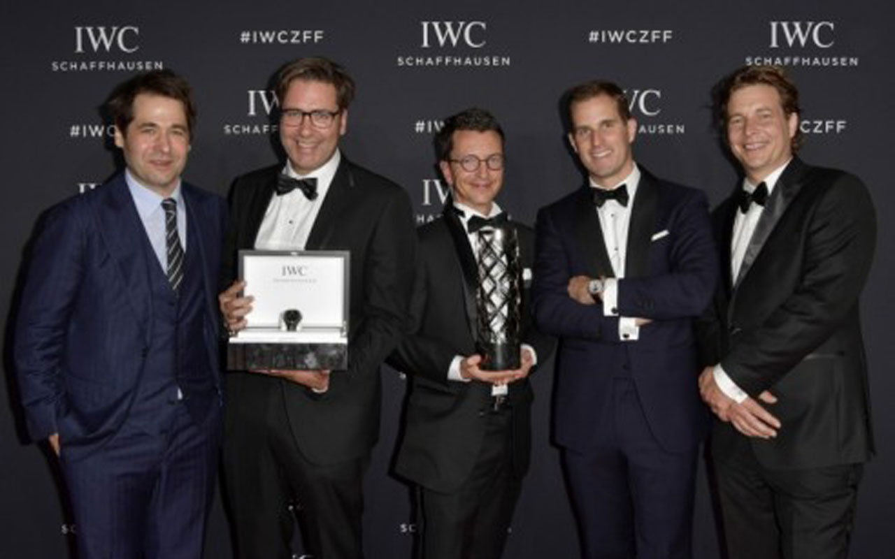 IWC entregó el Filmmaker Award en la gala 'For the Love of Cinema'