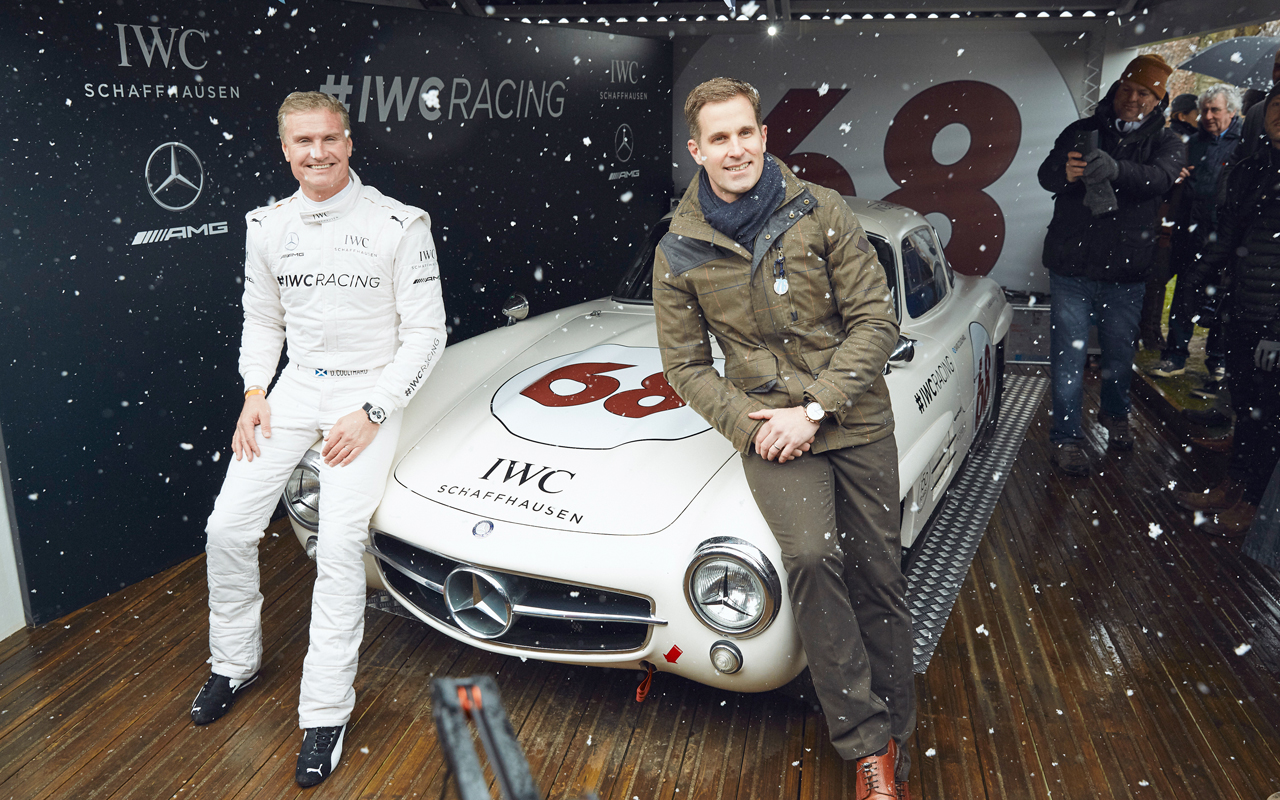 IWC Schaffhausen funda su motor racing team