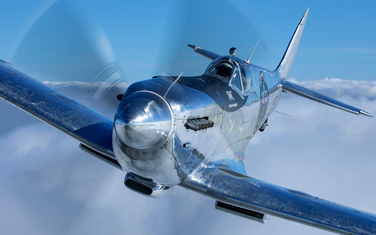 IWC emprenderá travesía en un Spitfire