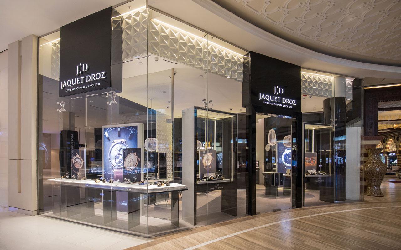 Jaquet Droz inaugura boutique en Dubái