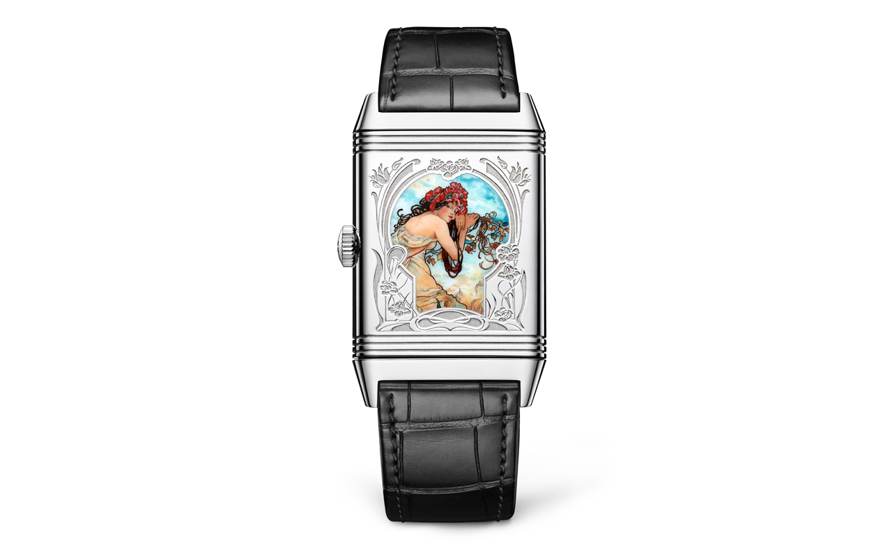 Jaeger-LeCoultre rinde tributo a Alfons Mucha