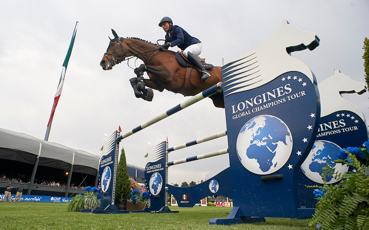 Longines Global Champions Tour, México relincha