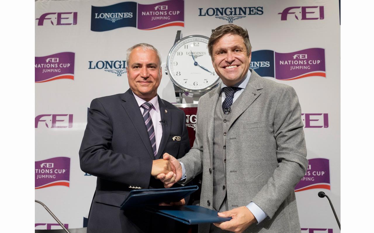 Longines, patrocinador principal de la FEI Nations Cup Jumping