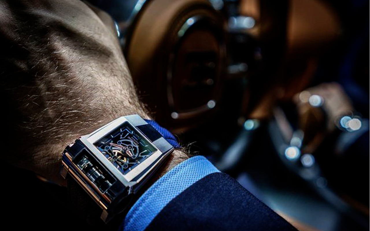 PF-Bugatti 390 Concept Watch, potencia al extremo